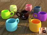 [Freebie] Chocolate Cups