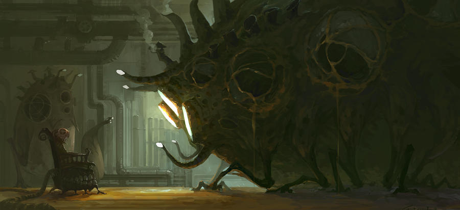 Big Monster by ZERG118