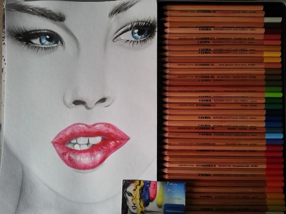 Donna colori matite Lyra by ARTBYTAMARA