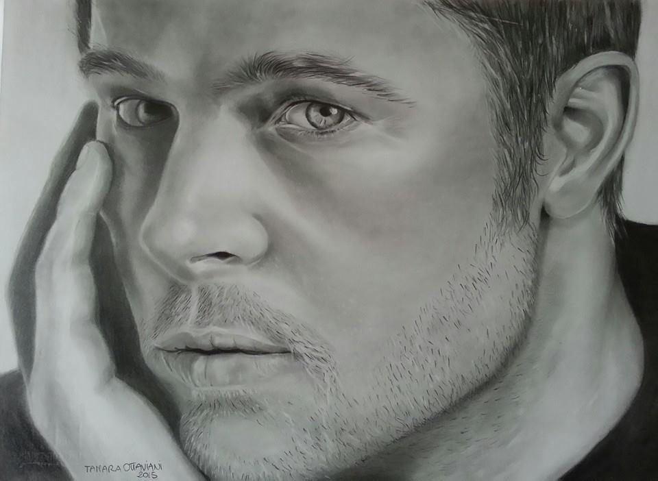 Brad Pitt . by ARTBYTAMARA