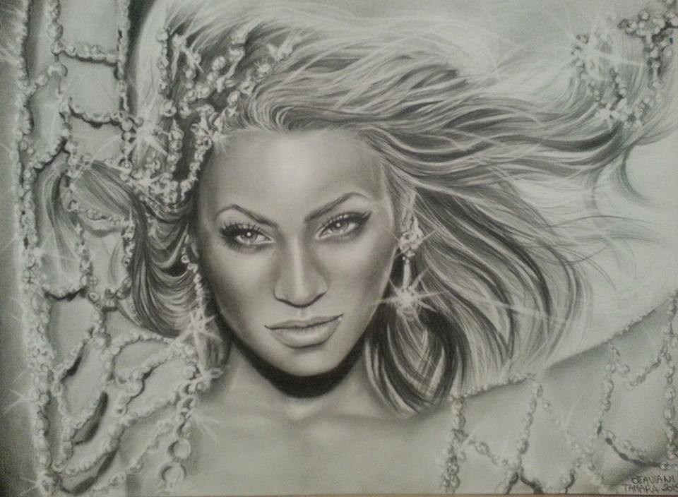 #Beyonce. by ARTBYTAMARA