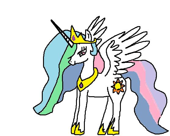 Princess Celestia by Pinkie01
