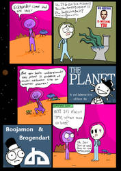 The Planet - collaboration with Brogendart by Boojamon