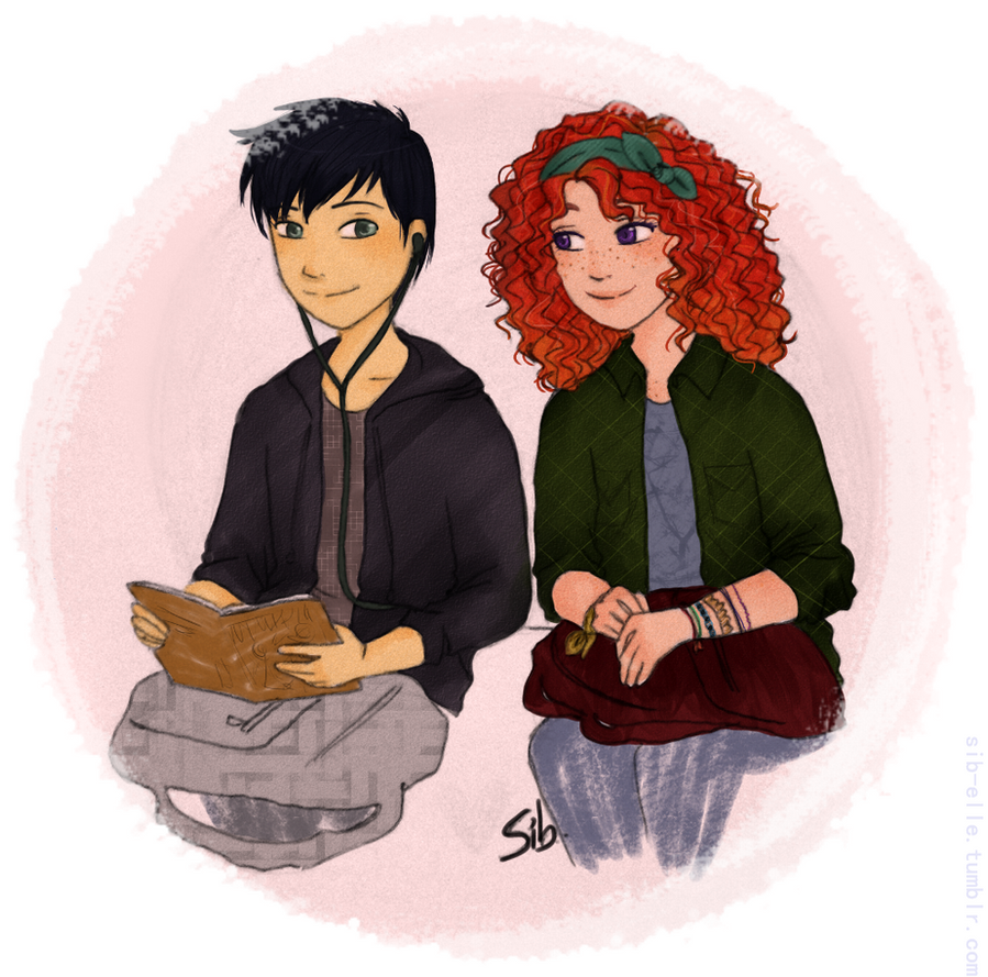 Eleanor and Park by xsweetsillygirl