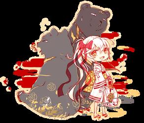 Airou, Yuni + Key by cobi-cobi