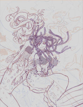 Mermaid Punk WIP 1