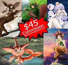 10 slots for 45$ 1 character #commission