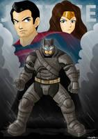 Batman V Superman by edamex