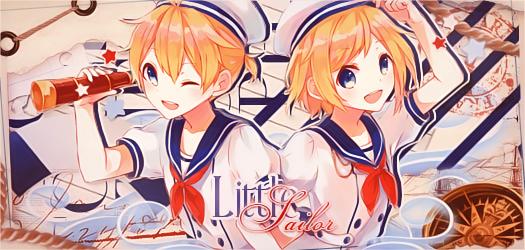 Little Sailor by bloodynekokira