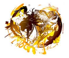 Ink Royal Eagle by NogitsuneST