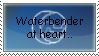 Waterbender at Heart: Stamp by AE-VanNuys