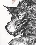 chien mechant by kitkat-la-blatte
