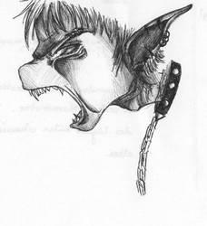 Elfe en rage by kitkat-la-blatte
