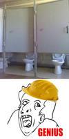 The Genius of The Construction by happyfacekiller88