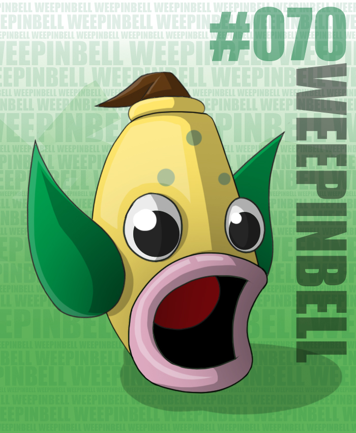 Pokemon: 070 Weepinbell by TranquilComics