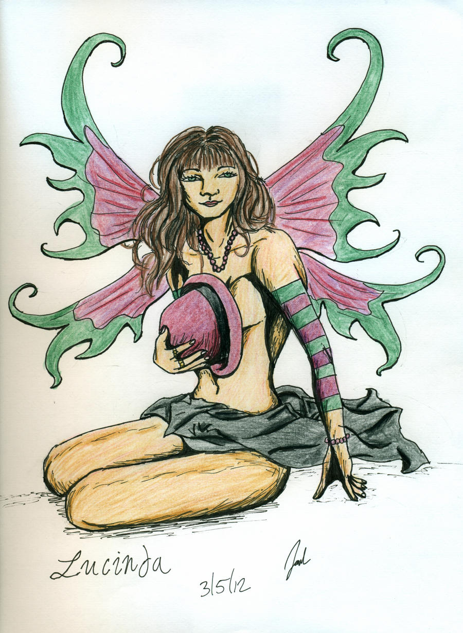 Burlesque Fairy-Lucinda by JadasArtVision