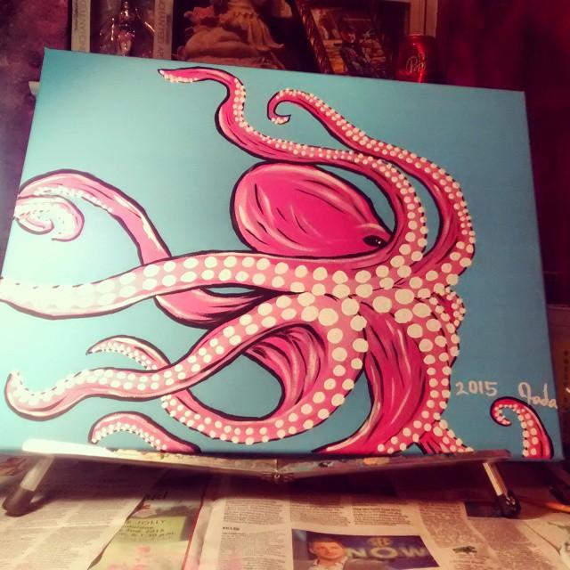 Octopus Dance by JadasArtVision