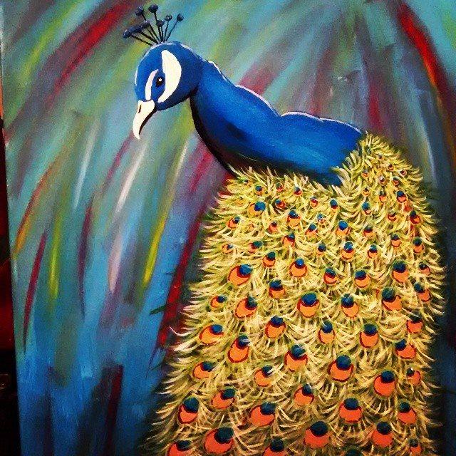 Royal Peacock- Close UP by JadasArtVision