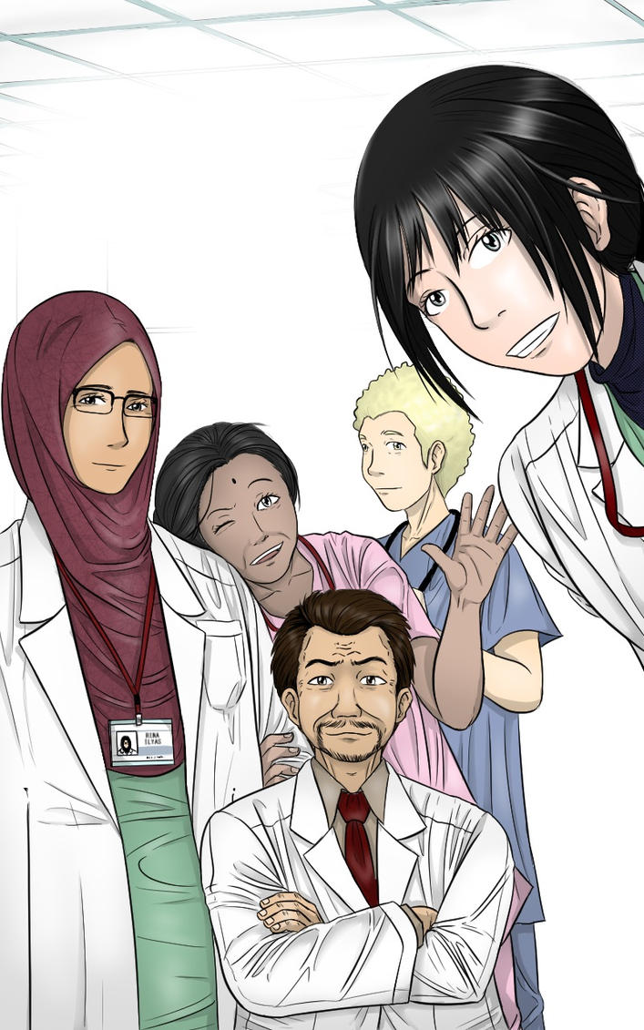 LAST DOCTOR Chapter 45 cover by GaGaK89