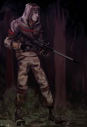 Sniper by T-R-Y-L-YA-L-YA