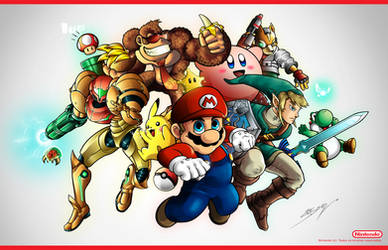 Nintendo Super Stars by sergio-borges