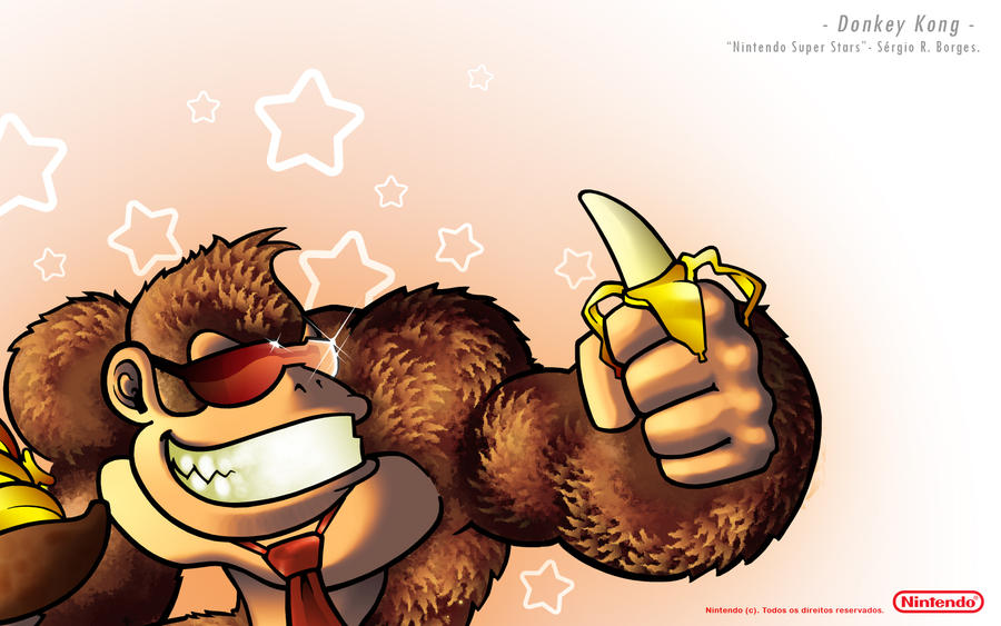 Donkey Kong - Super Star by sergio-borges
