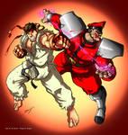 Ryu vs. M. Bison