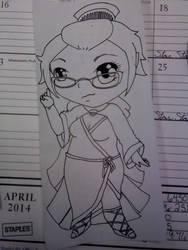 Line Art. Work Doodles