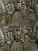 Silent Hill 3 - mannequin Room by Mageflower