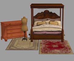 Bioshock Infinite room pack by Mageflower