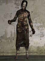 Silent Hill Downpour - Screamer by Mageflower