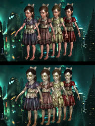 Bioshock 2 - Little Sister by Mageflower