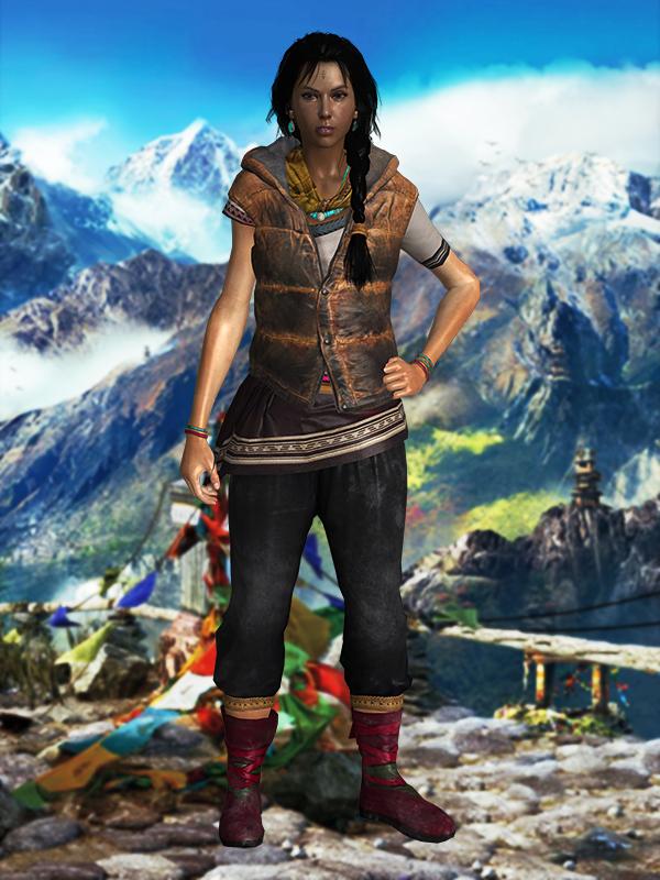 Far Cry 4 - Amita by Mageflower on DeviantArt