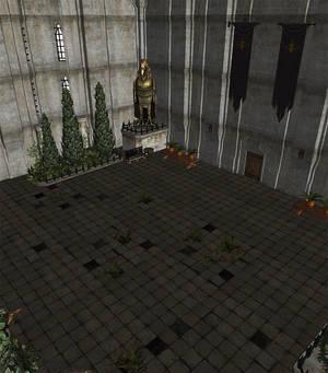 Dragon Age 2 - Gallows Hall Courtyard
