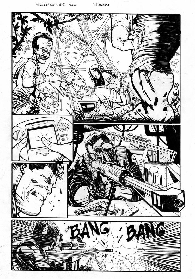Thunderbolts #14 page 2 by andrearsandbabs