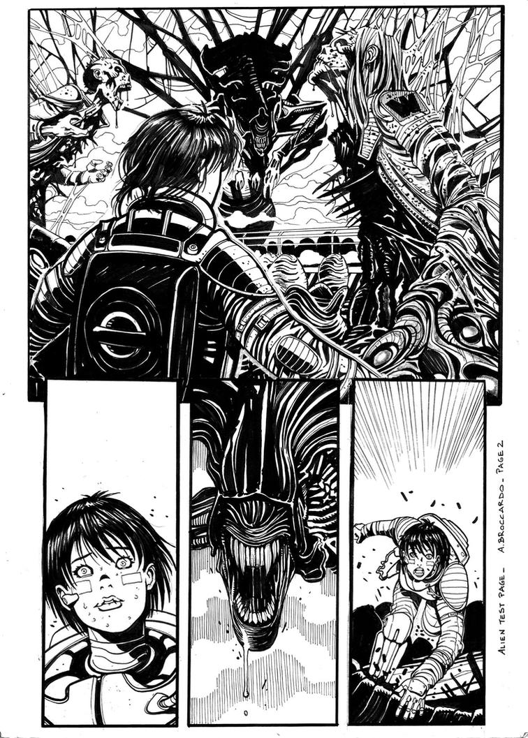 Alien test page 2 by andrearsandbabs