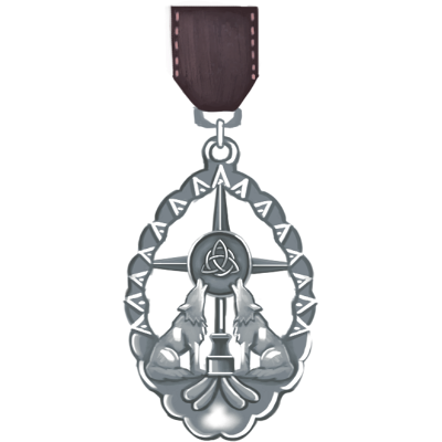 Passage of Courtship Medal - Silver