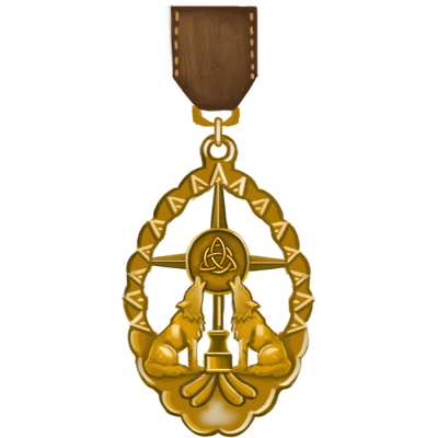 Passage of Courtship Medal - Gold