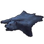 Blue-Grey Bear Pelt by Ulfrheim