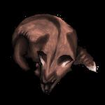 Cross Fox Pelt by Ulfrheim