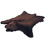 Brown Bear Pelt by Ulfrheim