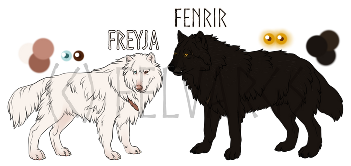 Freyja/Fenrir Official Reference Sheets