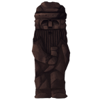 Mysterious Viking Lord Carving