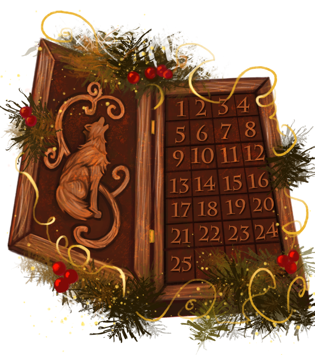 2017 Felvargs Advent Calendar (Comment!)
