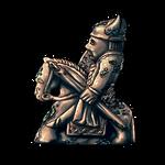 Coral Covered Figurine by Ulfrheim