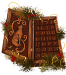 2018 Felvargs Advent Calendar (Items/USD/Points +)