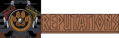 Reputations title by Ulfrheim
