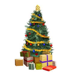 Felvargs 2020 Community Christmas Tree