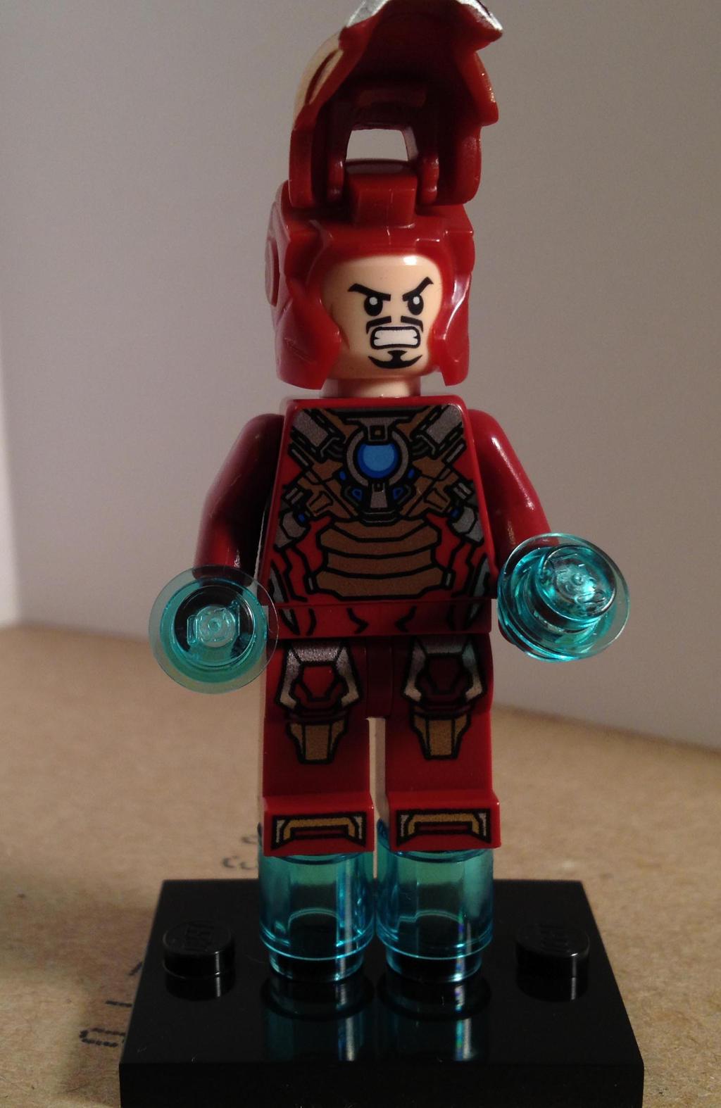 Iron Man Heartbreaker Armor Lego Minifigure by ...