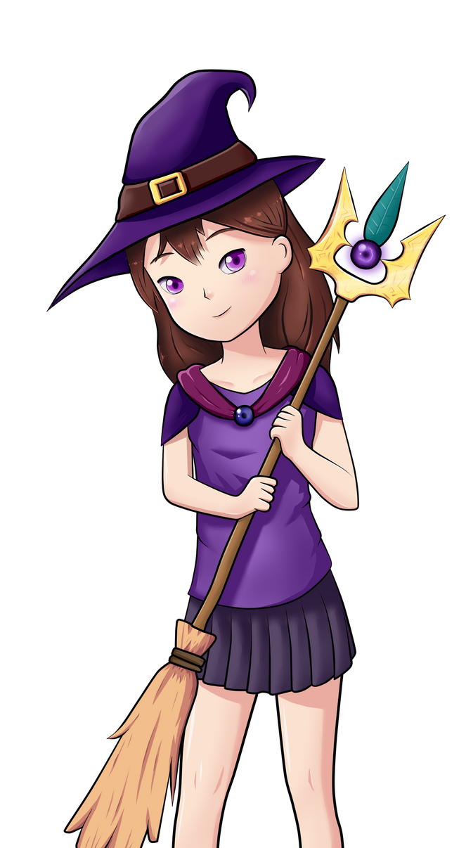Sophina the Witch by Frostyflytrap